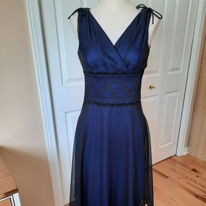 Gorgeous Connected Apparel navy dress